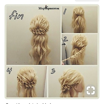 #diy #hairstyle  Try these hairstyle...