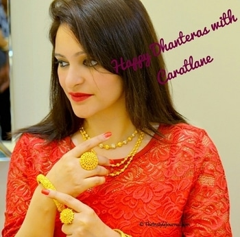 Happy Dhanteras with @caratlane1!!  check out Brand new post on my blog - 💥 CELEBRATE DHANTERAS WITH GOLD JEWELLERY FROM CARATLANE 💞🌟🌟 #caratlane #nehabhattbhagat #theinstylejournal #tanishq #gold #jewelrygram #jewellerystore #jewelryonline