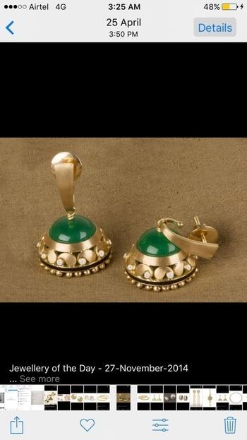 #goldplated #earrings #earring comes with #meenawork #silver #silverjewellery #memoriajewels #high-quality #925sterlingsilver #diwali-sale #diwaligift #girls #favorite #call - +91-7357229656