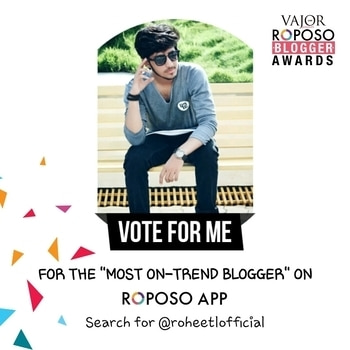 hey Guys please vote for me !! thank youu🙈 #soroposo #roposodaily #roposolive #roposostyle #roposotalks #roposolove #fashionblogger #Roheetlakhwani  To vote click on profile you will get vote button and click on that 🙈
