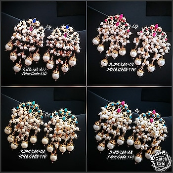 Price : 1200 each pair/ swipe across ➡️ Shop outside the box wid thse unique statement earrings from our bridal collection😘 😊grab at the earliest! #earring #grabnow #newarrival #beautifuljewellery #igers #celebrityjewellery #delhi #mumbai #uniquejewellery #jewelsofinstagram #glamorzia #streetstyle #trendy #uberchic #jewelleryaddict ##celebrityjewellery #colorful #jewelleryaddict #colorpop #shopaholic #onlineshopping #shopoutsidethebox #gorgeous #asians #indianwomen #fashionaccessories #fashionjewellery #