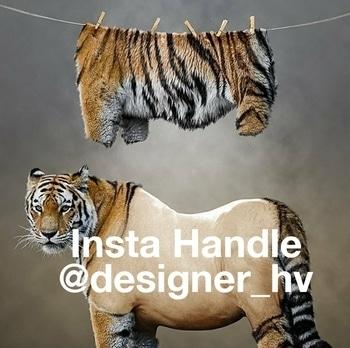 Unmasked the #tiger #igers #designer #graphicdesign