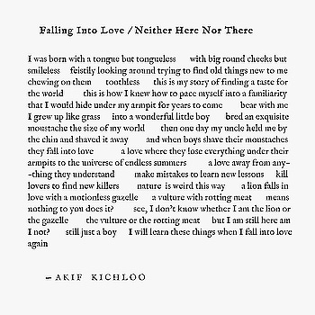"""""""Falling Into Love / Neither Here Nor There""""  