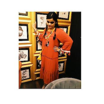 #fashiondiaries#fashionlover#fashionista#mexican#boholook#tasselnecklace#multicolor#tasselbracelet#multi-colour#boho#dress#redcolor#multi-colour#tassels#sleeve#freshersparty#farewellparty#theme#mexican#boho