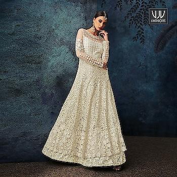 Buy Now @ http://bit.ly/VJV-HOTL7084  Beautiful Off White Color Net Designer Anarkali Suit  Fabric- Net  Product No 👉 VJV-HOTL7084  @ www.vjvfashions.com  #salwarsuit #salwarkameez #punjabisuit #indianwedding #model #bridal #bridalsuit #weddingstyle #occasionwear #sabyasachi #weddingwear #bridesmaids #salwarsuits #anarkalisuit #plazzo #plazzosuit #punjabi #kurat #ethnic #traditional  #designer #desifashion #online #shopping #designer #punjabisuit #vjvfashion #kurti