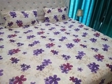 **With New Updated Designs** 1 Double Bedsheet with 2 Pillow Covers (Bombay Dyeing Style) Fabric: Pure Cotton (We also call it Twill Cotton) Size: 254*275 Cms ( King Size) **Excellent Quality** Price: Rs 1049 + $ **For king size bed and upto 10 Inch thick mattresses** STU... Book now fast  9559147657