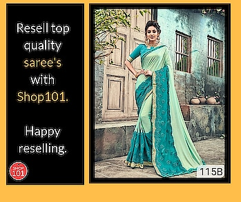 Download: http://bit.ly/2D12b3g  #womensaree #saree #designer-saree #wedding-saree #women-fashion #women-style #womenwear #fashion #workfromhome #thebazaar #reseller #reselling #onlinebusiness #shop101