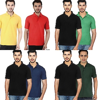 Polo TShirts Combo @ discount prices WhatsApp me -> for more details https://wa.me/918610180408 .