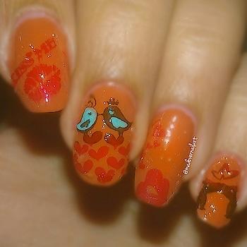 #nails #nailart #nail-addict #nail-designs #nailartaddicts #nailpolishblogger #nailpaint #nailartindia #love #valentine #birds #lovebirds #roposo #roposo-style #lookgoodfeelgood #roposo-fashiondiaries #roposo-makeupandfashiondiaries #roposo-good #roposo-mood #roposo-fashion #roposo-creativeartist