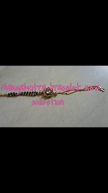 New collection mangalsutra bracelet