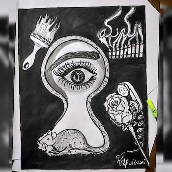 #manuartchallenge #challenge #art #artgallery #moviemanu #artist #inspired #trailer