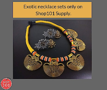 Download: http://bit.ly/2D12b3g  #necklaceset #necklaceoftheday #necklace_sets #women-fashion #womennecklace #women-style #womenwear #necklace #jewellery #bridal-jewellery #indianjewellery #bridal-jewellery #sellonline #onlinebusiness #workfromhome