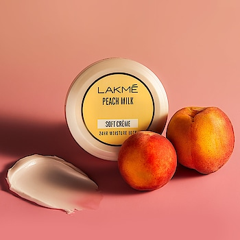 Winter skin is dry skin, but not anymore. With Lakmé Peach Milk Soft Creme get a 24 hour moisture lock and show off soft smooth skin all day long.   Price (65gm): Rs. 100/- #Lakme #ILoveLakme #LakmePeachMilk #PeachMilk #SoftCreme #Moisturiser #LakmeLipstick #WinterCare