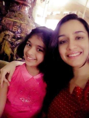Selfi with Shraddha Kapoor😘👑