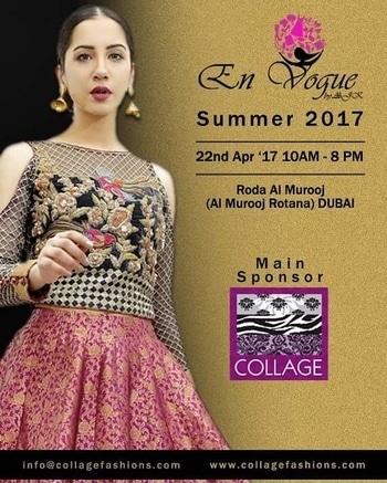 #collageboutiqueuae @collage_fashions main sponsor for @envoguebyaajk #summer 2017 happening on 22nd April at Roda Al Murooj from 10am to 8pm. #fashionpost #EnvogueDXB #EnVogueByAajk #fashionbloggers #dubaibloggers #dubaifashionblogger #Bloggers #fashionnews #dubaievents #dxb #dubai #mydxb #mydubai #myuae #myabudhabi