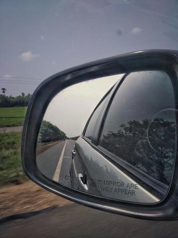 #RoposoTalentHunt #roadtrip #fun #journey #reflection #mobilephotography #redmi #car