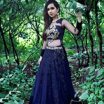 @thevoguespur wearing this blue beauty from #RAA gown collection!! Get your hands on our exclusive styles only at www.rentanattire.com  Rent at special discounts till 30th Sep, rush now!! #rentanattire #fashiononrent #indowesternstyle #instagram #fashion #urban #indianlook #gown #jewelry #indowestern #indianweddings #indianfashion #fashionblogger #fashionphotography #photoshoot #potrait #fashionshoot #rent #attire #india #cocktail #prewedding #sangeet #weddings