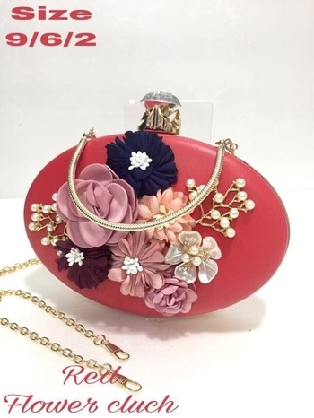 Floral Clutches Rate - 1230/- Free Shipping #womensfashion #limitedstock  Buy Now