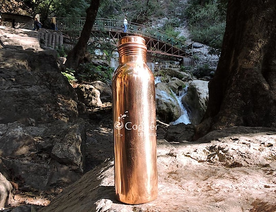 Copper Ayurvedic Water Bottle