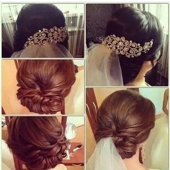 #bride #bridehair #hair #hairstyle #instahair #hairstyles #haircolour #haircolor #hairdye #hairdo #haircut #longhairdontcare #braid #fashion #instafashion #straighthair #longhair #style #straight #curly #black #brown #blonde #brunette #hairoftheday #hairideas #braidideas #perfectcurls #hairfashion #hairofinstagram #coolhair