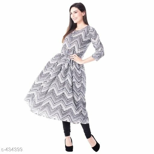 Salaksya Cotton Printed Kurtis Fabric: Cotton 60-60
