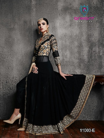 Hamim vol-4 Nx Hit collection  in this des. 11003A to 11003E                       Exclusive collection  Top- semi jorjat  Bottom-Santoon  Inner-santoon Dupata - heavy najmine  Rate-2050-+Shipping Cost Extra  Call or WhatsApp  on  918097775536 From  ArtistryC.in