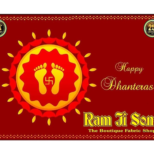 Light in the lamp, light in light, Pulakit is earth, Jagmag is the sky, the noise of firecrackers, the queue of light, the lover of your mother Lakshmi, Happy Dhanteras 2018