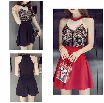 #black-red #shortdress #soroposofashion