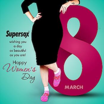 Happy #WomensDay   #Supersox #womensocks #supersocks #InternationalWomensDay #womensday2018 #Love #Life #GirlPower #Mother #SheInspiresMe #महिलादिवस #march8