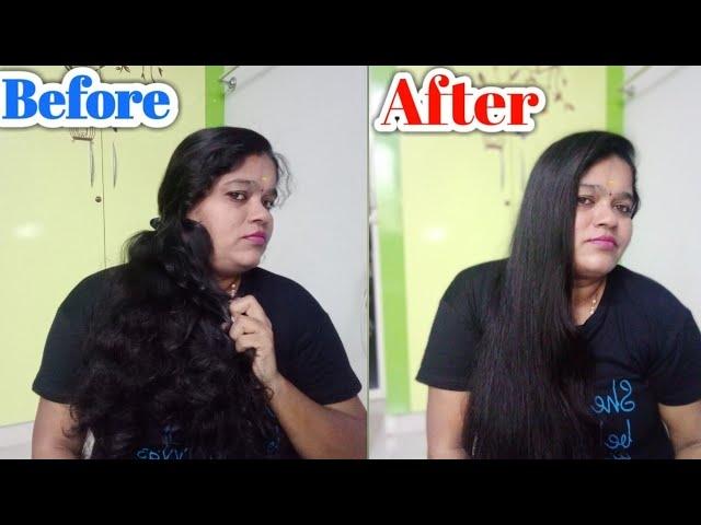 Hair straightener full video youtube vimmy seenu channel see#hairstraightening  #hairgrowthtips