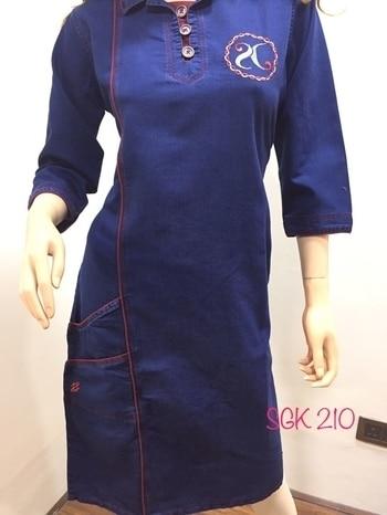 Denim kurtis...@best price. whtsapp fr order...7989042322