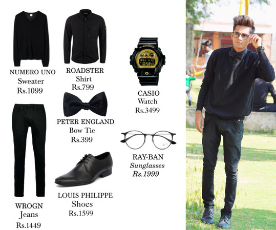 """Hope you Like my this """" Formal All black Winter Look"""" and trust me Men in black always slays women's hearts 💗  If yes and want to put up the same Then you can Shop this Full Look From - Myntra.com  Be Stylish and Significant ! ❤  #thevogueparadise #hate #enemies #sun #white #fashion #quote #you #bloggerlife #lifestyle #blog #blogger #style #ootd #men #fashionblogger #fashionbloggerindia #instagram #tbt #love #fashionista #streetfashion #streetstyle #instagrammers #vogueindia #indianblogger #indianfashionblogger #indianmaleblogger #roposodaily #fashionstyle #photoshoot #hair #black #fashiongram #new #cute #shoes #skincare  #swag #indianwedding #roposostyle #instafashion #menswear #outfit #photooftheday #happy #instadaily #instagram #beautiful #girls #onlineshopping #rajasthan #indianfashion #mensfashion #travel #soroposo #look #bloggerlife #hate #indianmaleblogger #indianfashion #fashiongram #travel #fashionblogger #photooftheday #soroposo #love #skincare #indianwedding #lifestyle #roposogal #black #shoes #mumbai #white #ootd #blogger #fashionstyle #indianfashionblogger #photoshoot #thevoguepriest #indianblogger #enemies #instagram #fashion #fashionista #roposodaily #outfit #mensfashion #blog #cute #sun #streetfashion #style #vogueindia #quote #happy #instadaily #menswear #men #hair #tbt #look #girls #swag #beautiful #you #instagrammers #new #onlineshopping  #instafashion #streetstyle #fashionbloggerindia :)  #casualwear"""