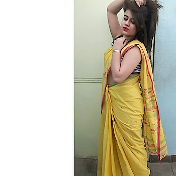 saree lover  #saree #loverz #yellow #fav #colour #being #sexy #followme #formoreupdates #showsomelove #instagram #roposo #stylesh #followers #igers #newlook