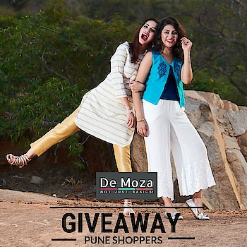 De Moza Giveaway Contest is Back for all lovely people of Pune! Here is the rule book  1. Participant must be from Pune City 2. Just Repost and Tag @demozstores with #demozainpune  3. All winners shall get Rs.2000/-Free Shopping Vouchers redeemable at De Moza store @phoenixmctypune  4. Contest ends on 8th Jan 2019  #giveawayalert  #puneblogger  #puneblogger  #punecontest18 #punefashionblogger  #punefashionblogger #puneshopping  #phoenixmallpune #punegirls #cutewomens  #punefitnessclub #puneblogger #punegiveaway  #punestories #punebabyphotographers #punegirl
