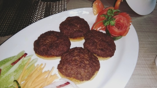 # Mutton Galawti Kebab.