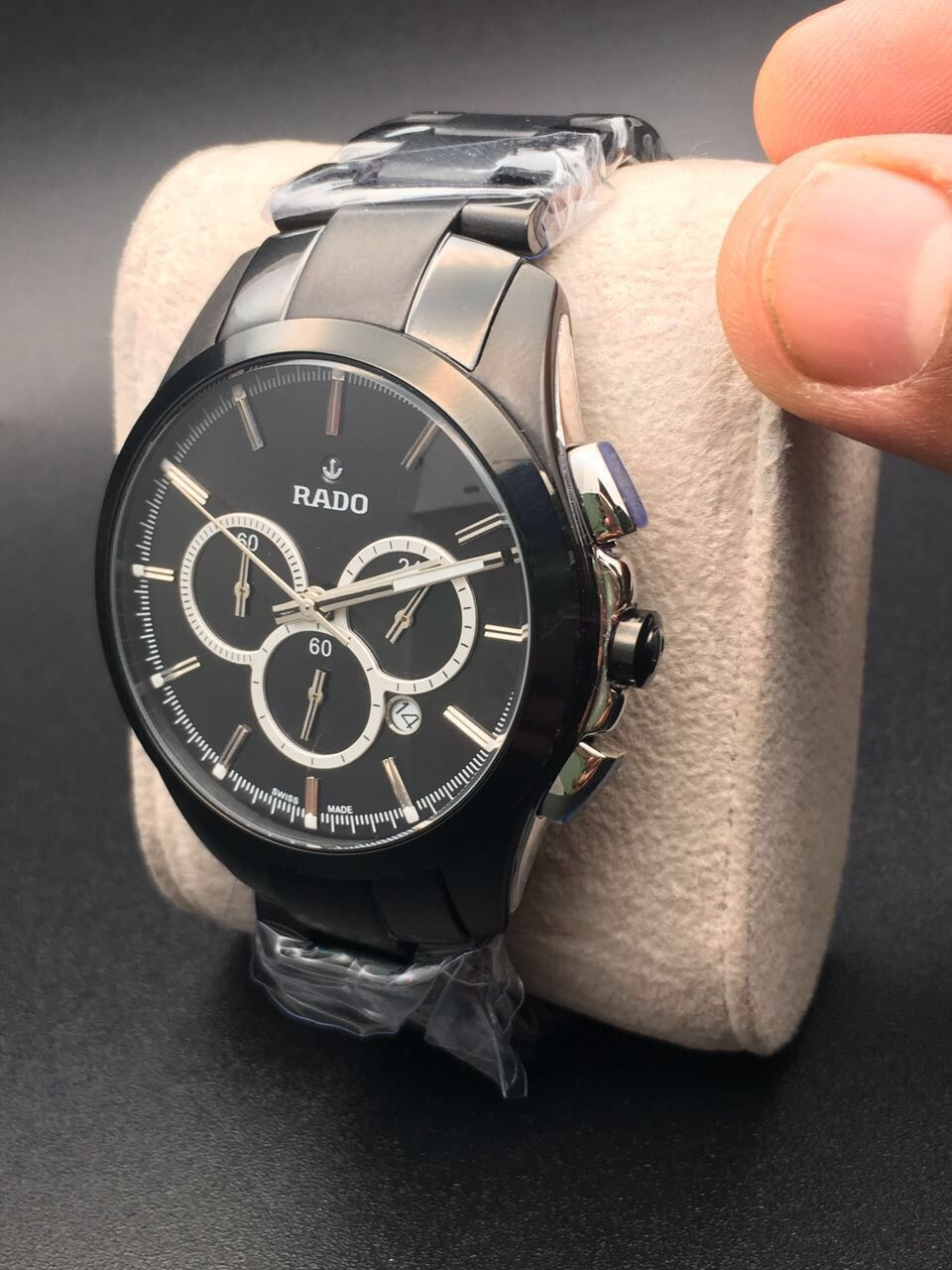 ⛔RADO HRITIK WATCHES FOR MANS ⛔BEST QUALITY WATCH ⛔ALL CHRONOGRAPHS WORKING⛔ ⛔STOP WATCH MACHINE WORKING⛔ ⛔DATE WORKING⛔ ⛔BRAND NAME ON BACK&LOCK&LOGO KEY⛔   ⛔₹₹@3400/- FREE SHIP ALL INDIA⛔  TO BUY SEND DM OR WATSAAP 9999142594   Chat with me on the #RoposoApp to buy this product! #roposo  #thebazaar #rado #radowatches #watchesformen #trendingonroposo #trendalert #2017trends  #roposochattobuy #fashion #shopping #shop #buy #seller #newarrival #onlineshopping #latesttrend #fashionpost  #fashionlove #fashionoftheday #fashionlook #fashionlover #trending #trendyfashion #onlineboutique #onlinestore #onlineshop