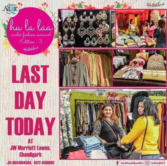 #lastday   #HULALA #exhibition  #jwmarriott  #11-12 NOVEMBER #apparel  #footwear  #jewelrydesigns  #shoppingbags  #funtimes  #wedding  #dressing  #designer  #chandigarhian  #panchkula #mohali ✌️ #jw_photographers  #weddingday #design-style  #chandigarhbloggersmeetup   #fashion #blogger #be-fashionable #shopping hangout #sundayshopping #shoppingbags #shopalcohic #sundayfun #exhibitiondiaries #exclusivedesigns #designeraccessories #designerkurti #designer-wear #footwearfashion #footwearlover #jewellerylove #fashion jewellery #