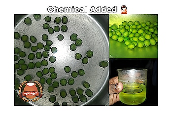 """""""Malachite Green"""" this is the Chemical Which is used in this Green Pea... This chemical Is used to change the vegetables into Vibrant colour... It also used in #ladysfinger #brinjal #watermelon and many Vegetables and Fruits... It is harmful to Humans... #pazhaiyakanji #food #vlog #foodvlog #foodvlogger #fooddocumentary #chennai #vellore  #chennaivlogger #danjr  #danjrvlogs  #irfanview  #villagefood  #foodvillage"""