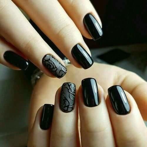 #blackndblack#nails#
