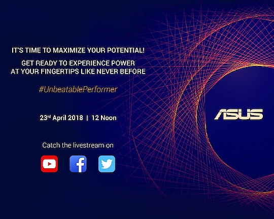 ASUS is all set to introduce its new smartphone flagship with thelatest#UnbeatablePerformer.Join the livestream on Monday,23rdApril, 2018,at12pm.  @asus @asusindia #asus #livestream #zenfonemaxpro