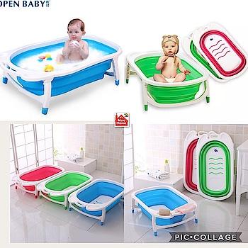 7⃣ Foldable baby bath tubs..  Priced @ ₹ 2350..onlyy