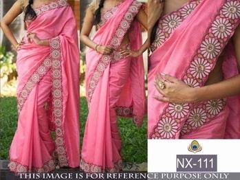 "Beautiful Saree -@1150/- INR Only, Fabric details -  D.NO-   NX-111"""" PALLU - ROYAL COTON , SCUT - ROYAL COTON , BLOUSE - BENGLORI SILK ,   **WHATSAPP ME AT +91 9760614947**"
