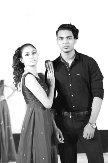 With very beautiful and talented supermodel priyadarshini 😊 Show by Head zone hair and beauty salon Choreography : prasantt sir #fashion #men-fashion #model #rampwalk #rampshow