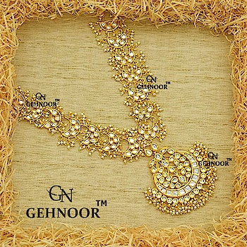 Look your Royal Best with our totally Unique & Fresh Rani Haar Design! This beauty is crafted with Perfection & Embellished with Kundan and Fine Pearls all over. 💕 . Statement Neckpieces never go out of Style & this is a definite must have! 💟 . www.gehnoor.com 💻 . FREE SHIPPING anywhere in India 🚙 . Cash On Delivery Available across India 💲 . WhatsApp at 07290853733 📱 . www.facebook.com/Gehnoor/ . gehnoor@gmail.com 📝 . #bride #goldjewellery #kundannecklace #traditionaljewellery #indianbride #photooftheday #instabride #bridalwear #bridaljewellery #tags #like #likeforlike #followfollow #followus #followback #gehnoor #earrings #chandbali #ruby #maroon #emerald #kundan #usa #canada #uk #saudiarabia #uae