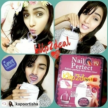 """"""" #klip2deal Get a Perfect Polish Nails Every Time with Nail Perfect Just for 799 Cash On delivery Available. Whatsapp No:9032437807 inbox to order To order visit http://klip2deal.com/index.php?route=product%2Fproduct&product_id=117 """" #loveyourself"""