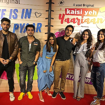 So we want to know from you guys..feedback time ....are we back ? Or are we back with a bang 😝 It's out now .. watch it on Voot !!!!!!! #kyy3onvoot  #fanscreening  @nititaylor  @kishwersmerchantt  @pranaypachauri  @radhika_bangia  @meherzanmazda