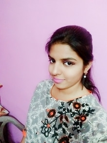 simple beautiful look Updated their profile picture #newdp items used for this look. moisturizer and DIY primer  maybelline fit me foundation  lakme flawless matte compact  lakme absolute eyeliner and mascara  DIY Kajal  nude eyes attitude peach blush by Amway  petal pink lipstick #sleek matte me lipstick.  #Roposo #SoRoposo