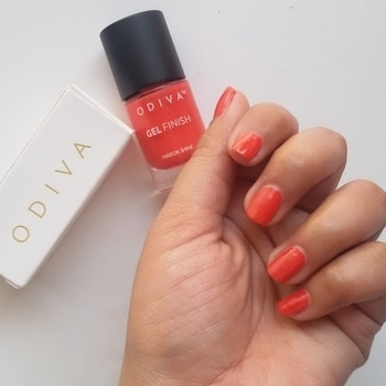 Such a pretty colour it is. To be honest when I selected this colour for my March 2017 @reveriebox I didn't know that I am going to like it so much. Now I am totaly in love with this colour. The shade is Sweet Escape from Odiva but I would like to call it  #KesariyaBalam #Nail #Nails #NailPolish #NailPolishAddict #NOTD #NailPolishLover #NailPolishes #NailstaGram #NailAddict #NailSwag #NailsOfInstagram #NailsOfTheDay #Nails2Inspire