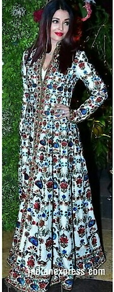 #aishwaryaraibachchan wore a #rohitbal #outfitinspiration #fashionquotient