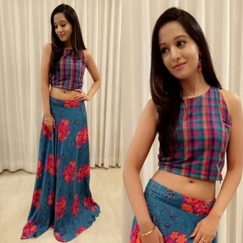 #Navratri #Look1 #TraditionalWear #IndoWestern  For #TimesOfIndia #FaceBook #LiveChat